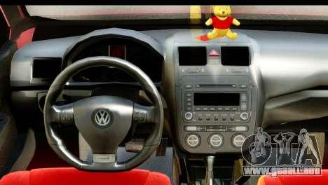 Volkswagen Bora GTI 2011 para la visión correcta GTA San Andreas