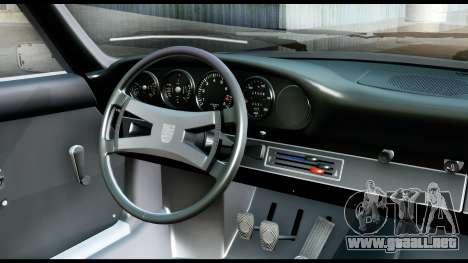 Porsche 911 Carrera 2.7RS Coupe 1973 Tunable para GTA San Andreas vista hacia atrás