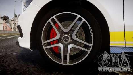 Mersedes-Benz A45 AMG PJs2 para GTA 4 vista hacia atrás