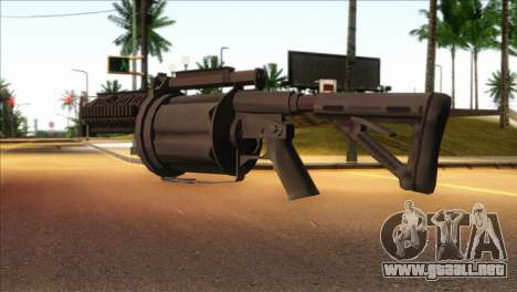Rocket Launcher from GTA 5 para GTA San Andreas segunda pantalla