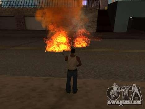 New Realistic Effects 4.0 Full Final Version para GTA San Andreas quinta pantalla