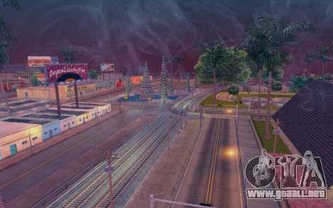 ENB by Dvi v 1.0 para GTA San Andreas sucesivamente de pantalla
