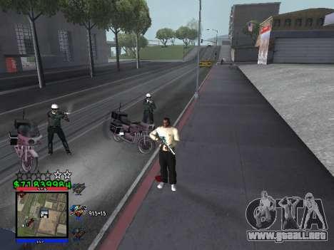 C-HUD by Santi para GTA San Andreas segunda pantalla