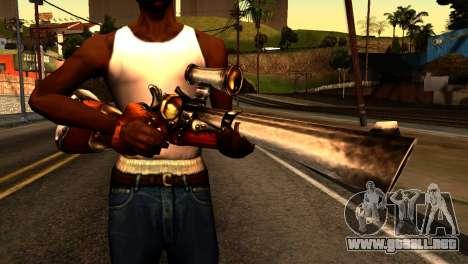 Assault Rifle from Redneck Kentucky para GTA San Andreas tercera pantalla