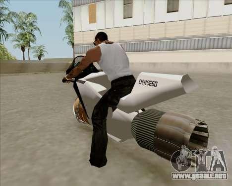 Air bike para GTA San Andreas left