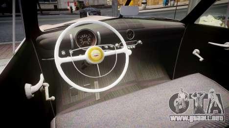 Ford Business 1949 para GTA 4 vista interior