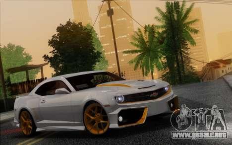 Chevrolet Camaro VR (IVF) para visión interna GTA San Andreas