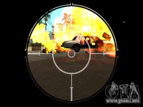 Effects by Lopes 2.2 New para GTA San Andreas tercera pantalla