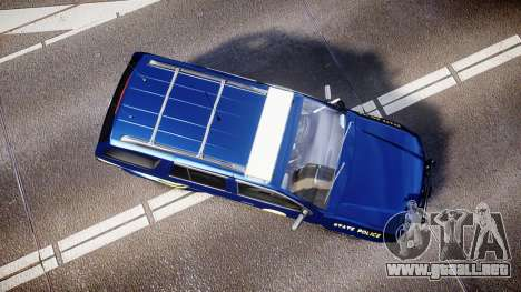 Chevrolet Trailblazer Virginia State Police ELS para GTA 4 visión correcta