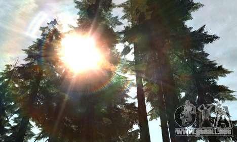 Nuevo resplandor para GTA San Andreas segunda pantalla