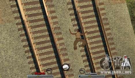C-HUD Yeah para GTA San Andreas tercera pantalla