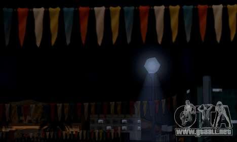 Nuevo resplandor para GTA San Andreas sucesivamente de pantalla