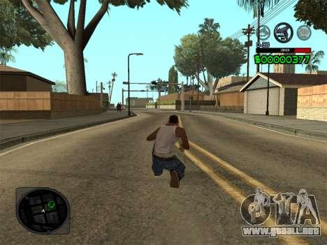 C-HUD by Radion para GTA San Andreas tercera pantalla