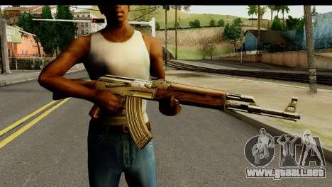 New AK47 para GTA San Andreas tercera pantalla