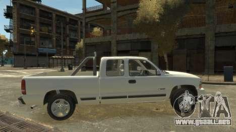 Chevrolet Silverado 1500 para GTA 4 left