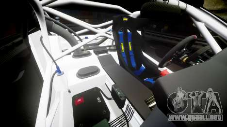 BMW Z4 GT3 2012 Northwest para GTA 4 vista desde abajo