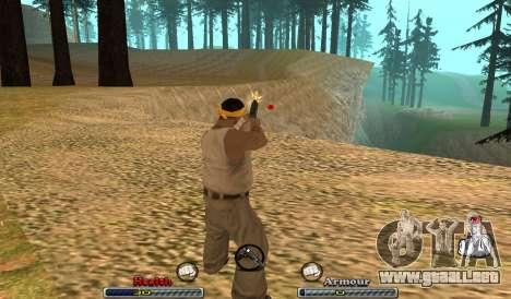 C-HUD Yeah para GTA San Andreas segunda pantalla