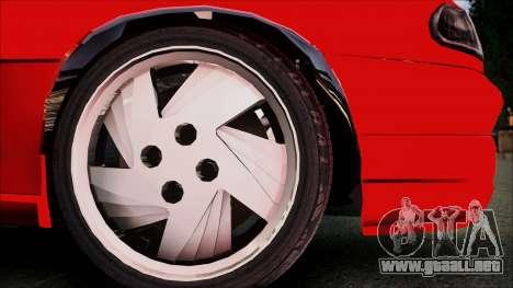 Opel Astra GSI BG para la visión correcta GTA San Andreas