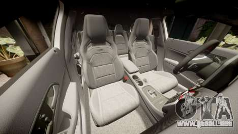 Mersedes-Benz A45 AMG PJs2 para GTA 4 vista superior