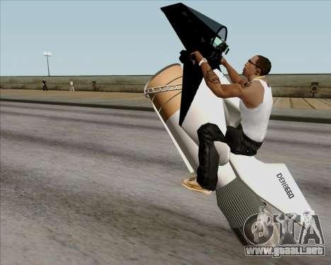 Air bike para visión interna GTA San Andreas
