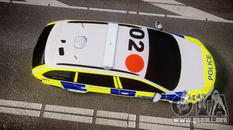 Skoda Octavia Combi vRS 2014 [ELS] Traffic Unit para GTA 4 visión correcta