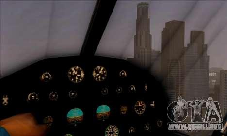 Swift GTA 5 para GTA San Andreas vista hacia atrás