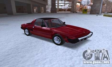 Fiat Bertone X1 9 para GTA San Andreas