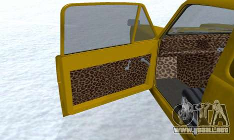 Reliant Supervan Only Fools and Horses para las ruedas de GTA San Andreas