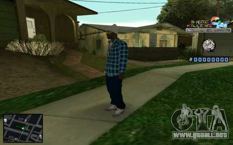 C-HUD SWAG Killerz para GTA San Andreas quinta pantalla
