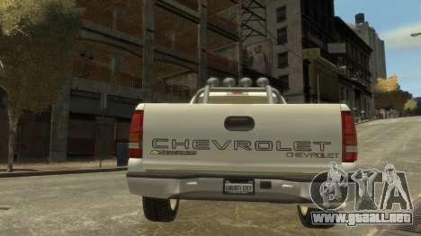 Chevrolet Silverado 1500 para GTA 4 visión correcta