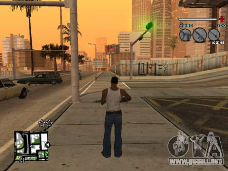 C-HUD Universal v3 para GTA San Andreas sucesivamente de pantalla