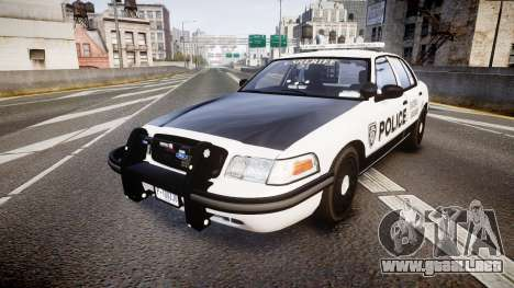 Ford Crown Victoria Sheriff Dukes [ELS] para GTA 4