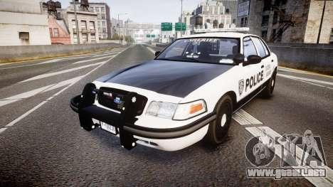 Ford Crown Victoria Sheriff Dukes [ELS] para GTA 4