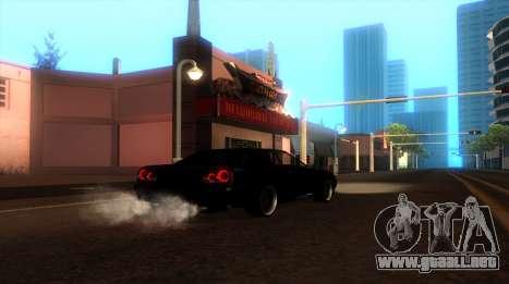 ENB by NIKE para GTA San Andreas segunda pantalla