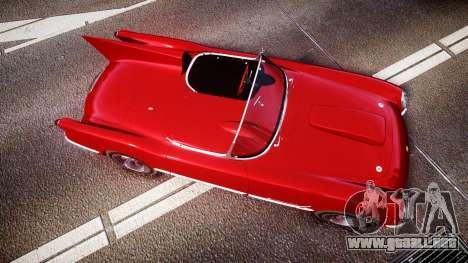 Chevrolet Corvette C1 1953 race para GTA 4 visión correcta
