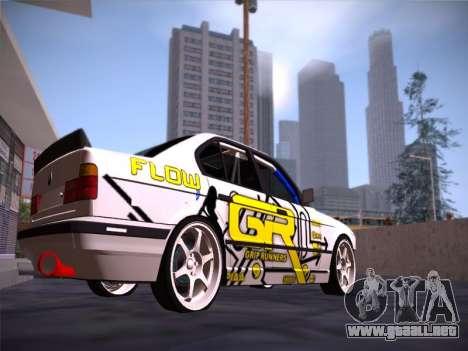 BMW M5 E34 Grip Runners Team para la visión correcta GTA San Andreas
