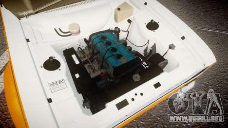 Ford Escort RS1600 PJ10 para GTA 4 vista hacia atrás