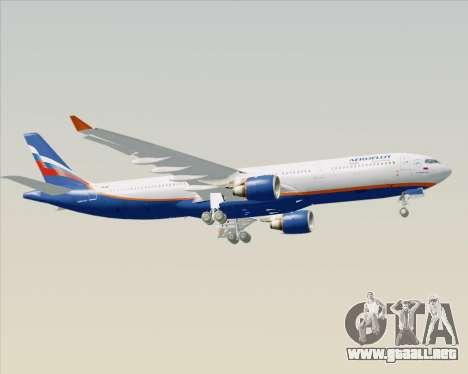 Airbus A330-300 Aeroflot - Russian Airlines para visión interna GTA San Andreas