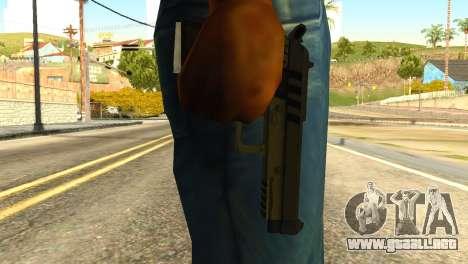 Pistol from GTA 5 para GTA San Andreas tercera pantalla