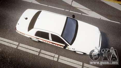 Ford Crown Victoria Sheriff [ELS] rims2 para GTA 4