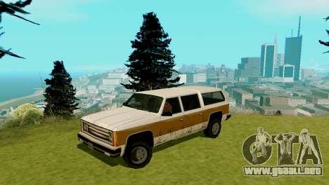 Nuevo transporte y compra para GTA San Andreas décimo de pantalla