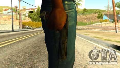 AP Pistol from GTA 5 para GTA San Andreas tercera pantalla