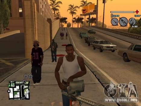 C-HUD Universal v3 para GTA San Andreas quinta pantalla
