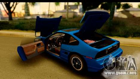 Pontiac Fiero GT G97 1985 IVF para vista lateral GTA San Andreas