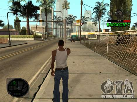 C-HUD by Radion para GTA San Andreas