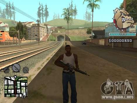 C-HUD Universal para GTA San Andreas tercera pantalla