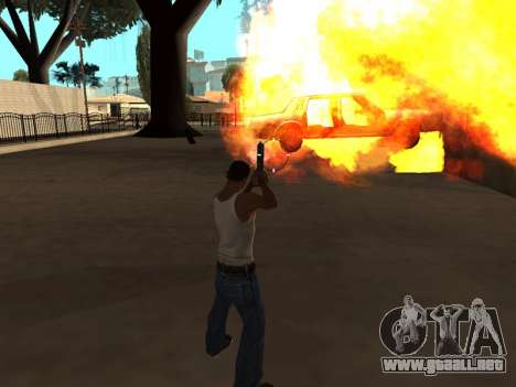 Effects by Lopes 2.2 New para GTA San Andreas sucesivamente de pantalla