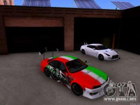 Nissan 200SX Elite Gas para GTA San Andreas left
