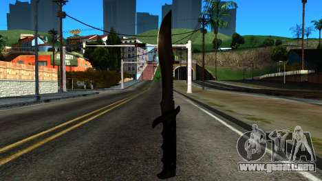 New Knife para GTA San Andreas