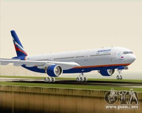 Airbus A330-300 Aeroflot - Russian Airlines para GTA San Andreas left